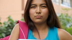 Estudiante adolescente serio Imagen de archivo libre de regalías