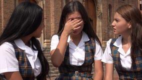 Estudiante adolescente triste Foto de archivo
