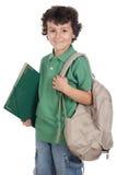 Estudiante adorable del niño Foto de archivo