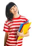 Estudiante agradable Fotografía de archivo libre de regalías