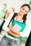 Estudiante alegre Fotografía de archivo