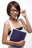 Estudiante asiático Imagen de archivo libre de regalías