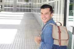 Estudiante asiático suroriental con el espacio de la copia Imagen de archivo