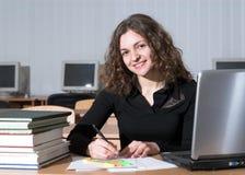 Estudiante atractivo Imagen de archivo libre de regalías