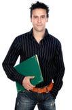 Estudiante atractivo del muchacho Imagen de archivo libre de regalías