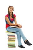 Estudiante bonito Fotografía de archivo libre de regalías