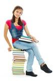 Estudiante bonito Fotos de archivo