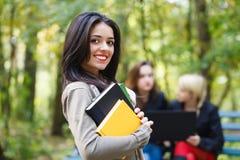 Estudiante bonito de Latina Fotos de archivo