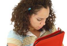 Estudiante cansado Foto de archivo