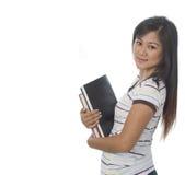 Estudiante con los libros 10 Fotografía de archivo