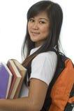Estudiante con los libros 2 Fotografía de archivo libre de regalías
