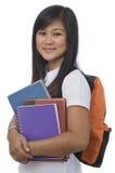 Estudiante con los libros 3 Foto de archivo libre de regalías