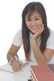 Estudiante con los libros 5 Fotos de archivo
