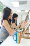 Estudiante de arte fotografía de archivo