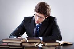 Estudiante de Derecho Imagen de archivo libre de regalías