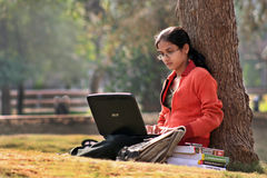 Estudiante de graduación Foto de archivo
