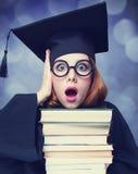 Estudiante de graduación Fotografía de archivo libre de regalías