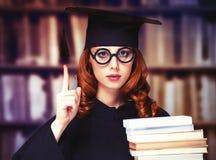 Estudiante de graduación Imagenes de archivo