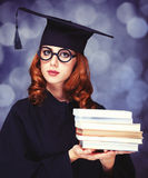 Estudiante de graduación Imagen de archivo