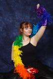 Estudiante de la danza imagenes de archivo