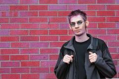 Estudiante de la High School secundaria Imagen de archivo