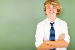 Estudiante de la High School secundaria Fotografía de archivo
