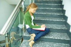 Estudiante de la universidad Imagen de archivo libre de regalías