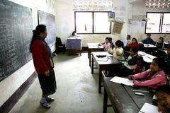 Estudiante de Laos Foto de archivo libre de regalías