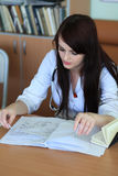 Estudiante de medicina Fotografía de archivo