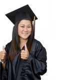 Estudiante de tercer ciclo asiático joven atractivo Imagen de archivo