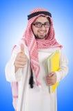 Estudiante del árabe de Youn Foto de archivo libre de regalías
