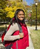 Estudiante del African-American Imágenes de archivo libres de regalías
