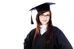 Estudiante del grado Foto de archivo