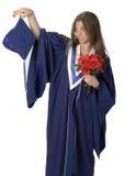 Estudiante del graduado Foto de archivo