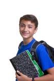 Estudiante del muchacho Imágenes de archivo libres de regalías