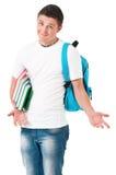 Estudiante del muchacho Imagenes de archivo