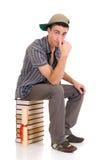 Estudiante del muchacho del adolescente Imágenes de archivo libres de regalías