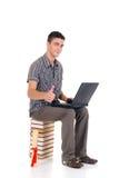 Estudiante del muchacho del adolescente Imagen de archivo libre de regalías