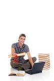 Estudiante del muchacho del adolescente Foto de archivo