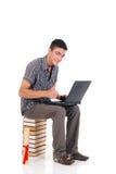 Estudiante del muchacho del adolescente Imagenes de archivo