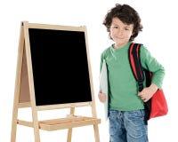 Estudiante del niño Imagen de archivo libre de regalías