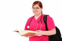 Estudiante del oficio de enfermera Imagen de archivo