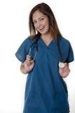 Estudiante del oficio de enfermera Fotografía de archivo libre de regalías