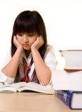 Estudiante deprimido Fotografía de archivo libre de regalías