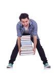 Estudiante divertido foto de archivo libre de regalías