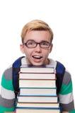 Estudiante divertido Imágenes de archivo libres de regalías