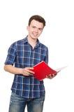 Estudiante divertido Fotografía de archivo libre de regalías