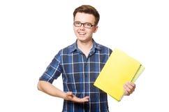 Estudiante divertido Foto de archivo