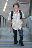 Estudiante en la escuela Foto de archivo libre de regalías