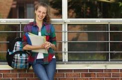 Estudiante en la escuela Fotos de archivo